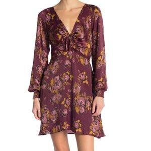 NWT Free People morning light purple dress